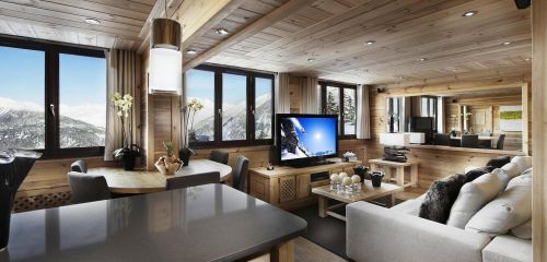 Apartment Pearl, Courchevel